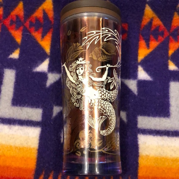 Starbucks mermaid anniversary blend 2009 tumbler